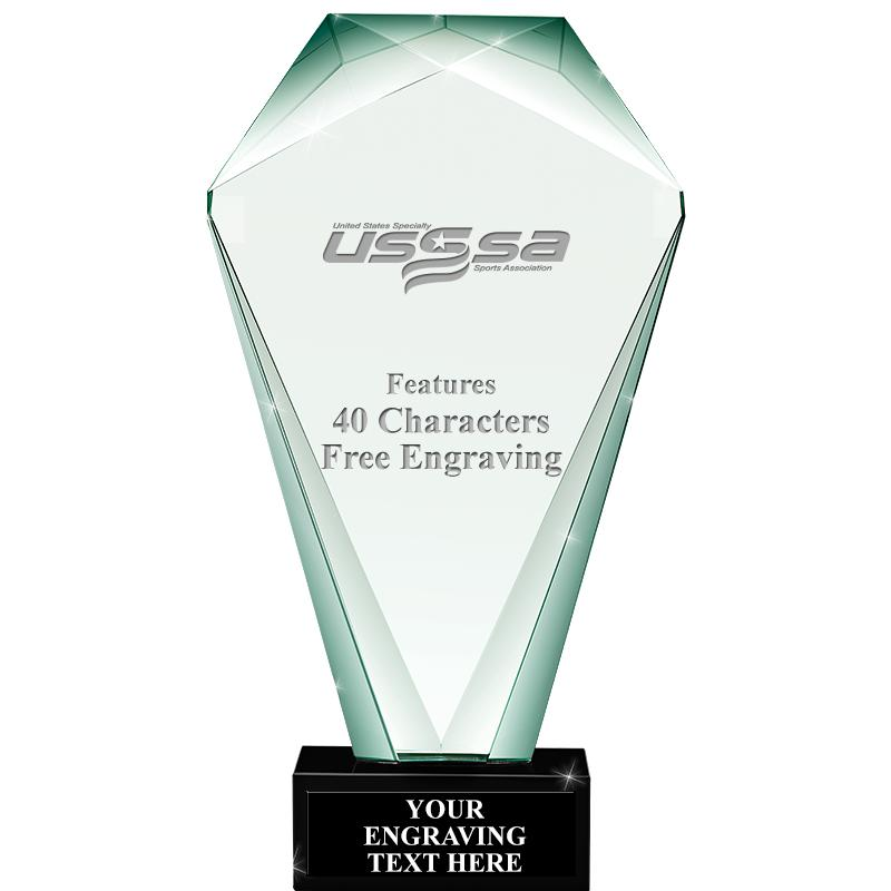 USSSA Soccer Jade Shrine Crystal