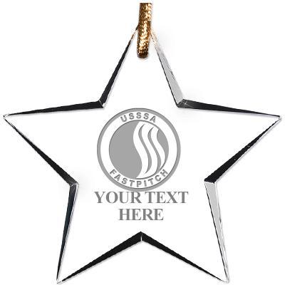 USSSA Star Crystal Ornament