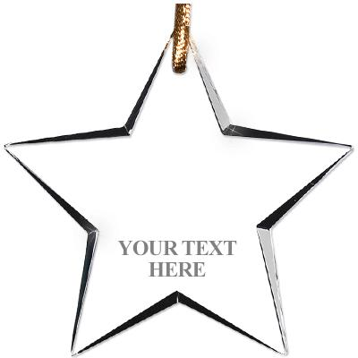 USSSA Star Crystal Ornament