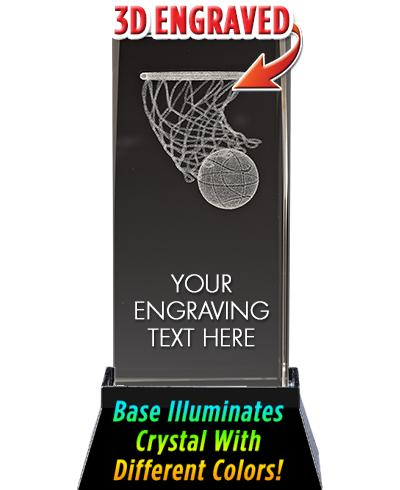 USSSA Laser Cut Basketball Hoop Crystal