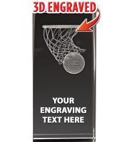 USSSA Laser Cut Basketball Hoop Crystal