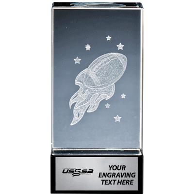 USSSA Onyx Laser Crystal