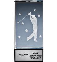 USSSA Golf Onyx Laser Crystals