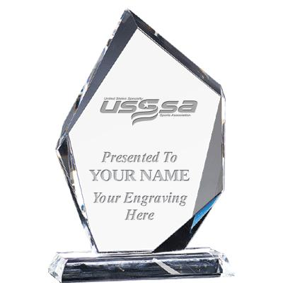 USSSA Soccer Apex Crystal Awards