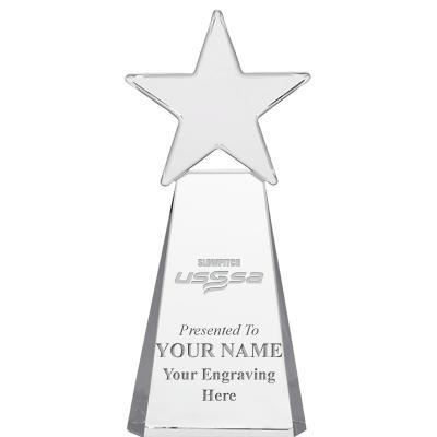 USSSA Slow Pitch Clear Dynostar Crystal Awards