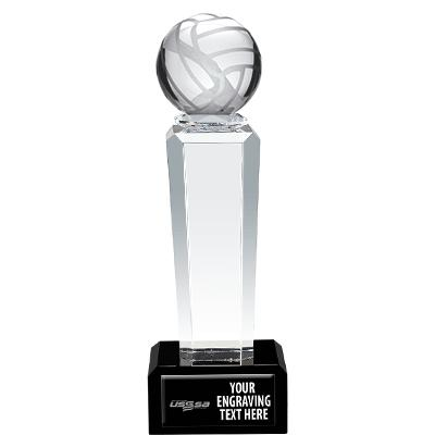 USSSA Volleyball Onyx Pedestal Awards