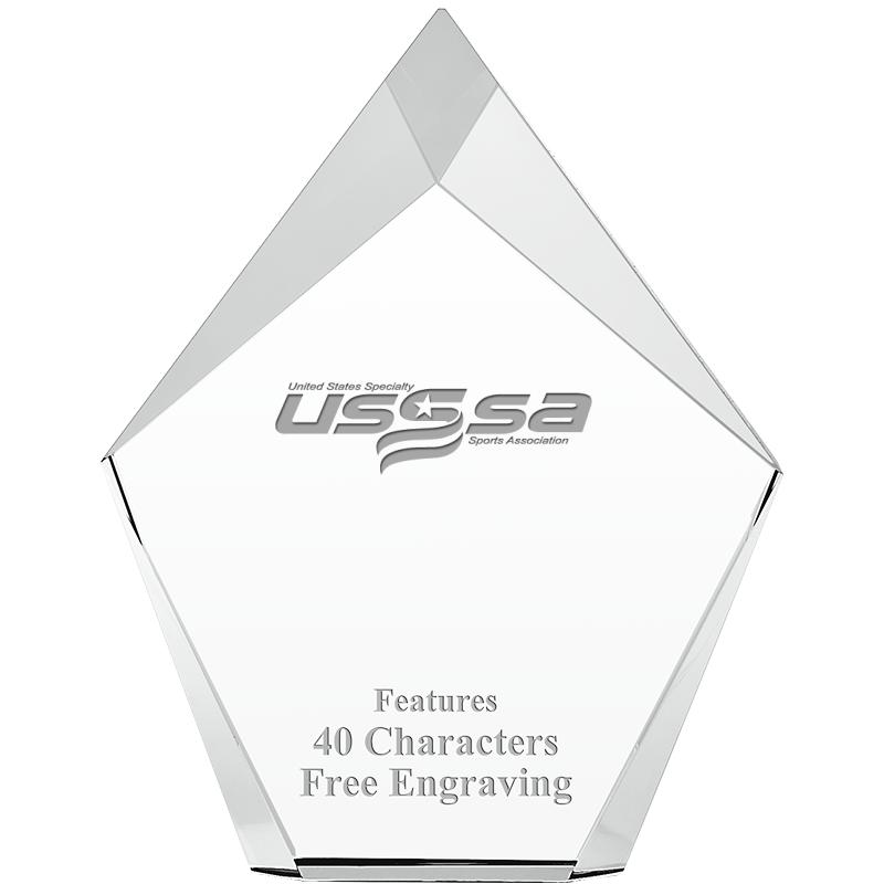 USSSA Vertex Prism Crystals