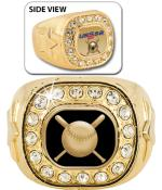 USSSA Gold Crystal Rings