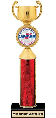 USSSA Gold & Silver Cup Insert Trophies