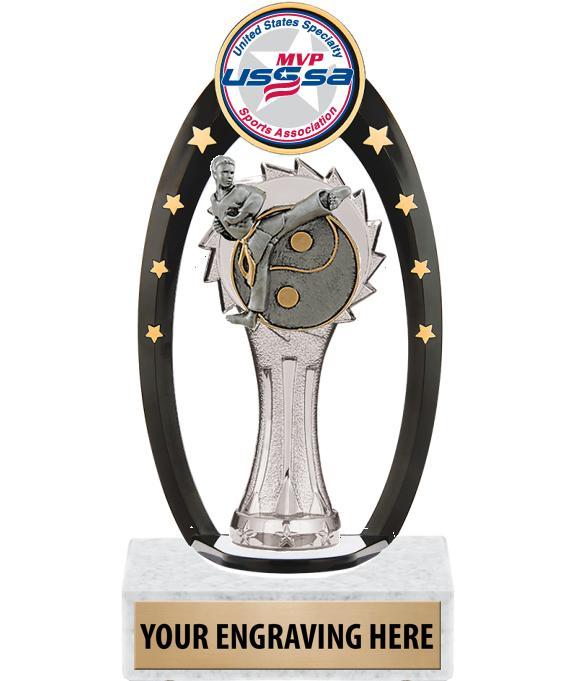 USSSA Gateway Backdrop Trophy