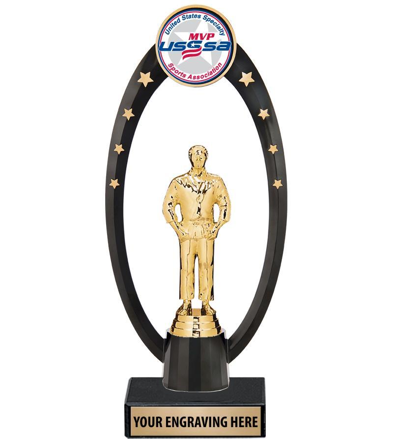 USSSA Deluxe Gateway Backdrop Trophy