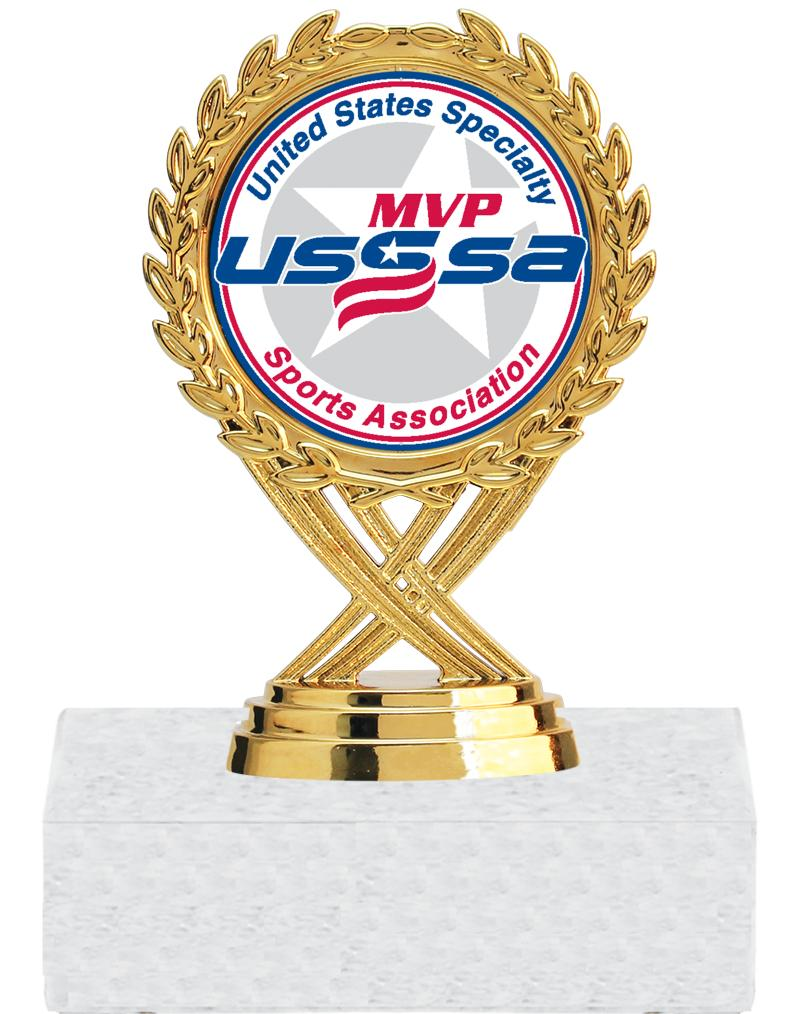 USSSA Gold Olympia Insert Trophies