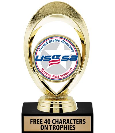 """5 3/4"""" USSSA Solstice Trophies"""