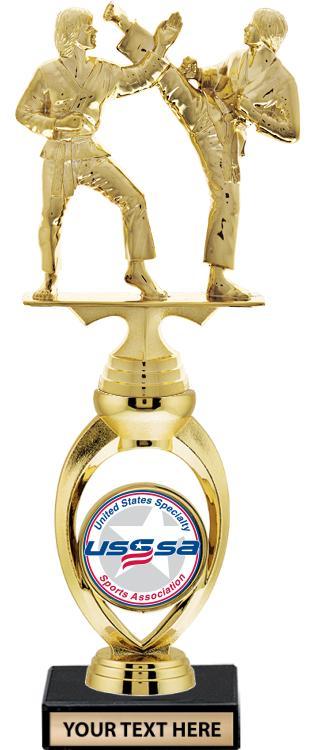 USSSA Solstice Riser Insert Trophy