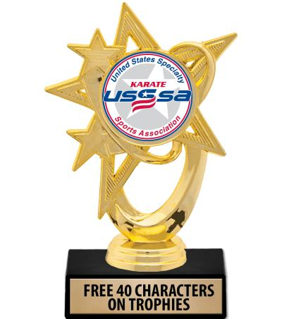 USSSA Astral Star Insert Trophies