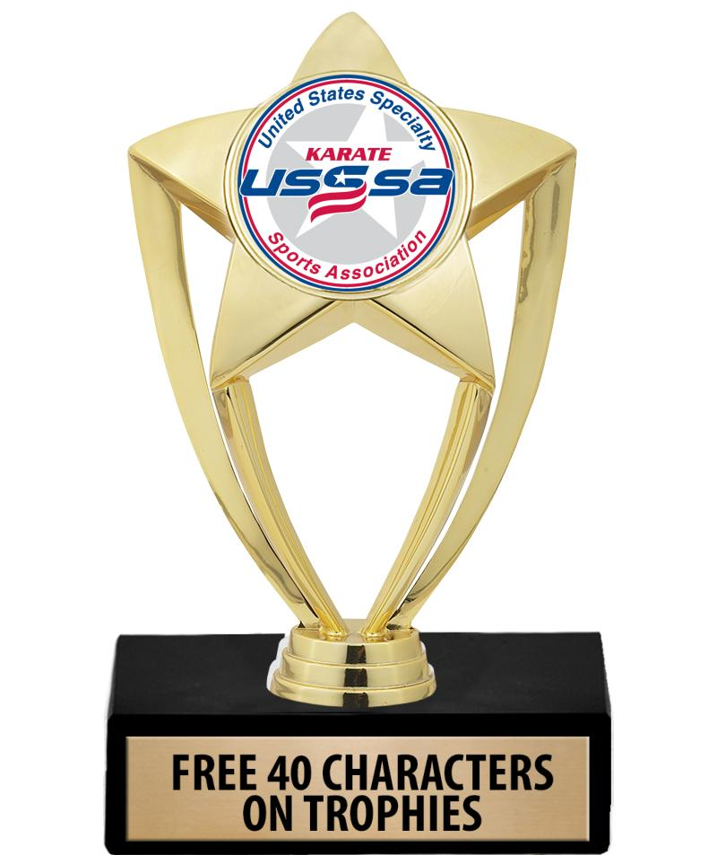 USSSA Shiny Star Insert Trophies