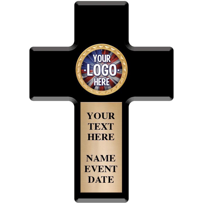 Cross Insert Plaque