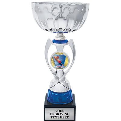"""12"""" SILVER BLUE RIBBON CUP"""