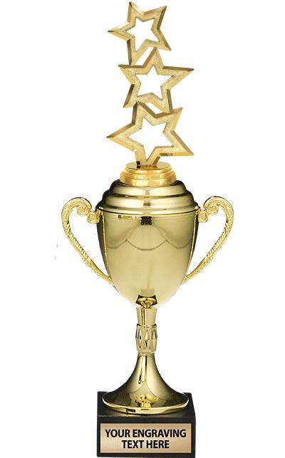 METAL Wimbelton Loving Cups W/ Figure