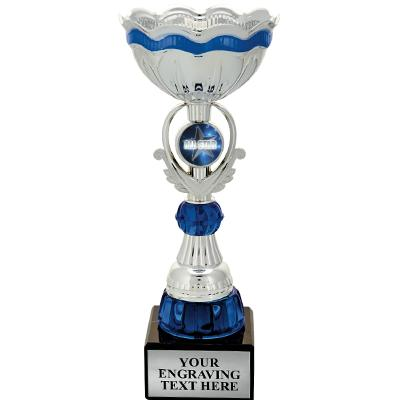 Sapphire Insert Cup Trophy