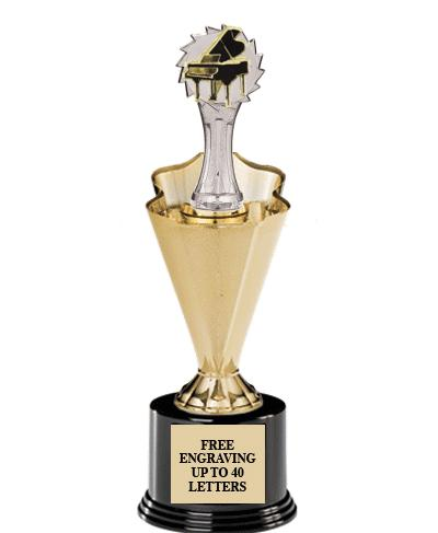 """11""""CONTEMPO CUP TROPHIES  W/FI"""