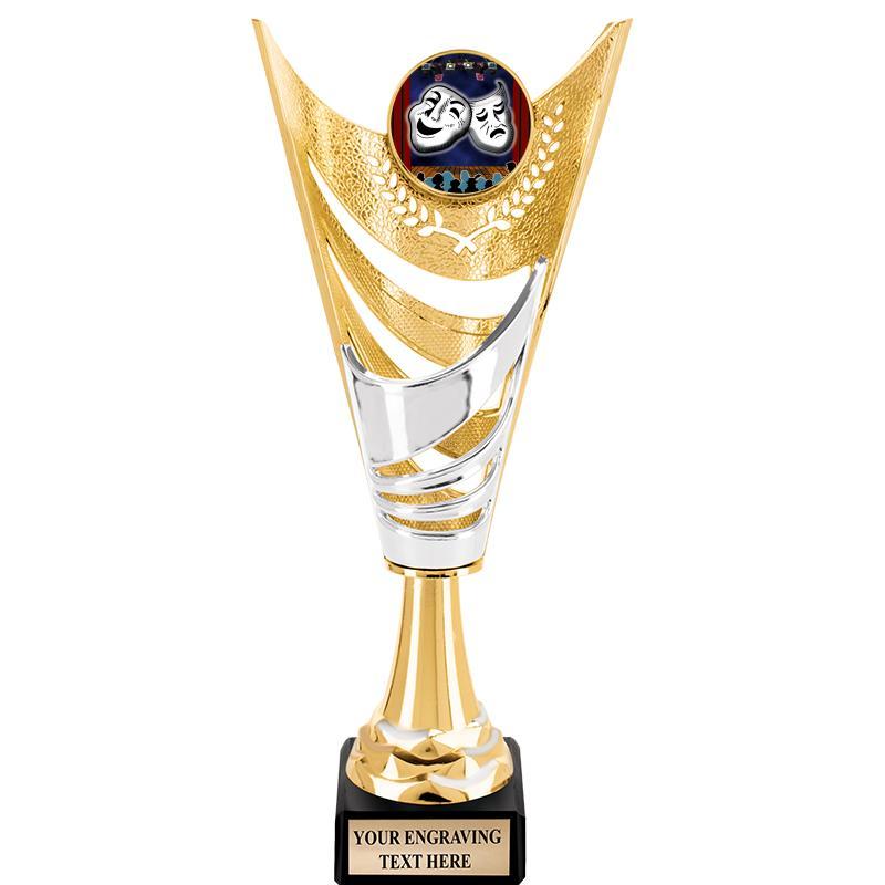 "12""ADORN INSERT CUP GOLD"