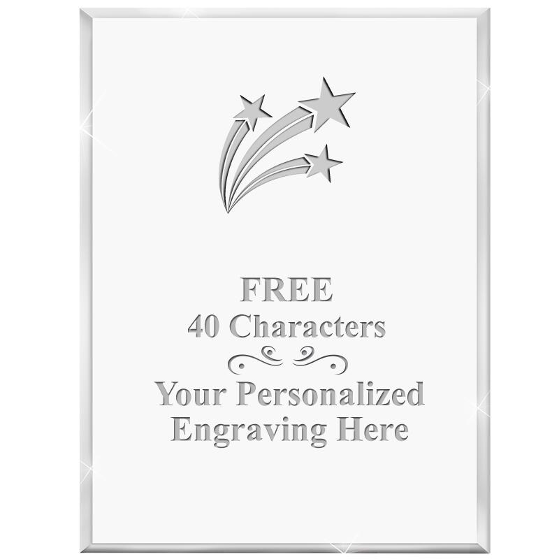 "3"" X 4"" VERTICAL DISPLAY ACRYL"