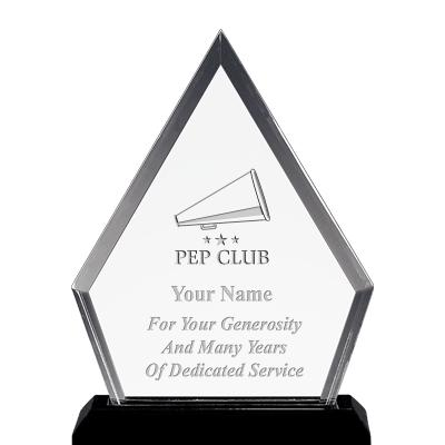 "4.5""x5.5"" PYRAMID AWARD W/ETCH"