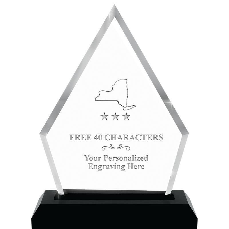"4.5""x5.5"" PYRAMID SKYLINE/BASE"