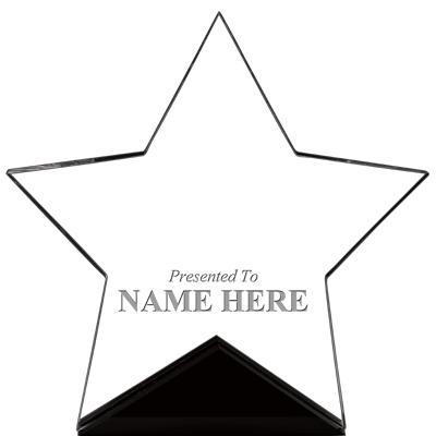 """7"""" CREST STAR ACRYLIC"""