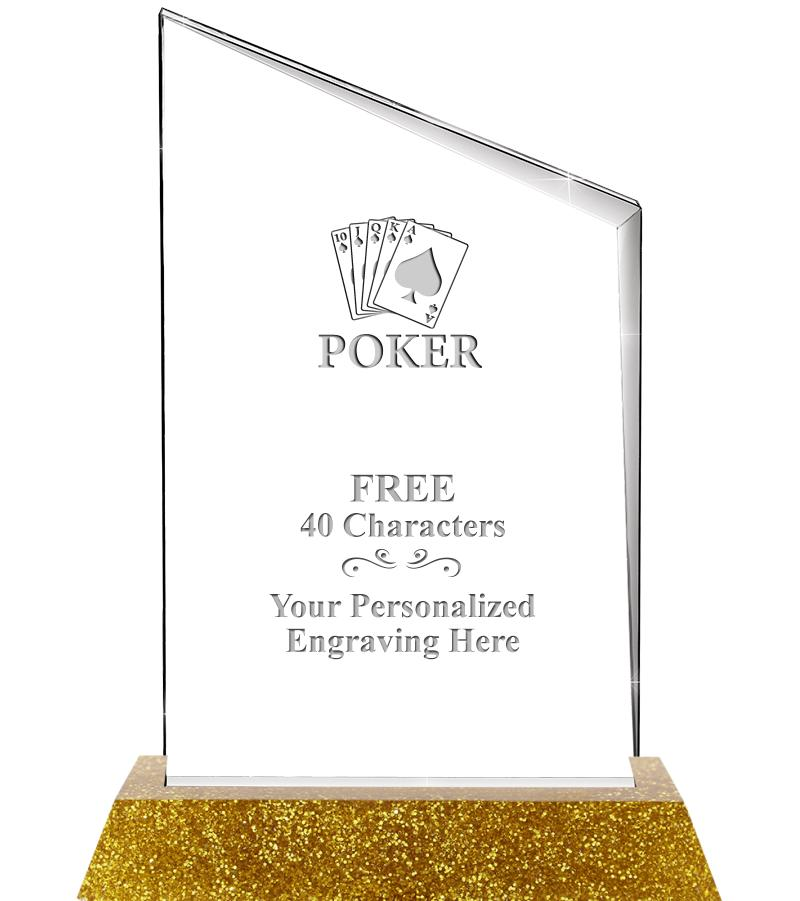 "5""X8"" INCLINE SLANT ACRYLIC"