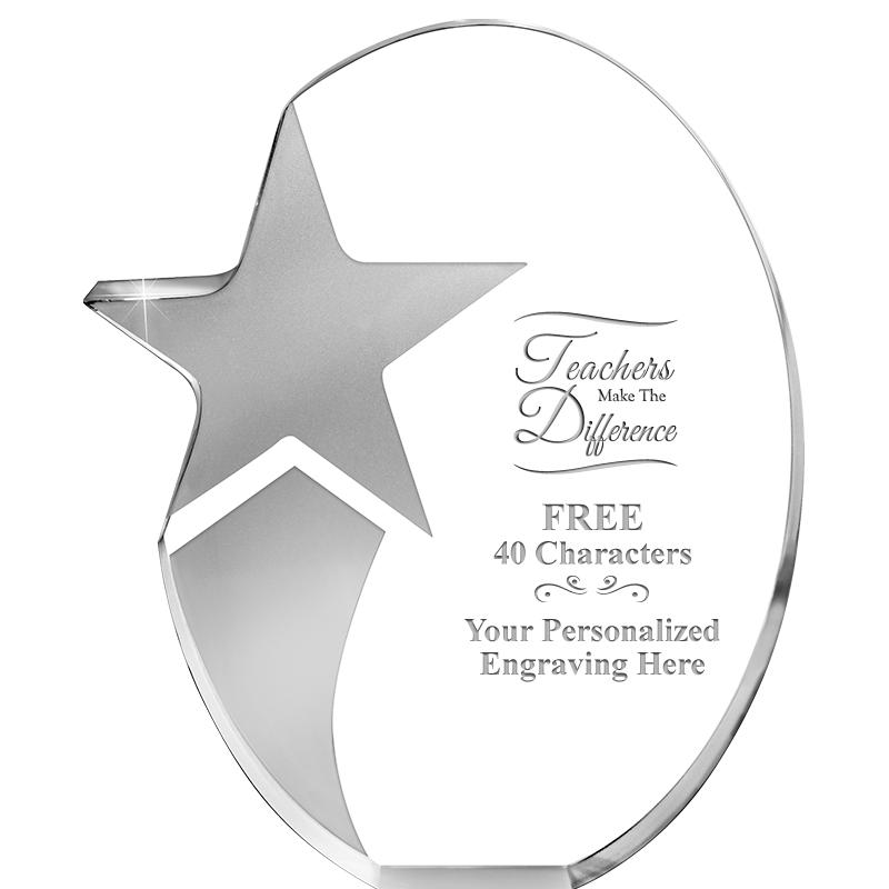 6.5x7.75 SHOOTING STAR ACRYLIC