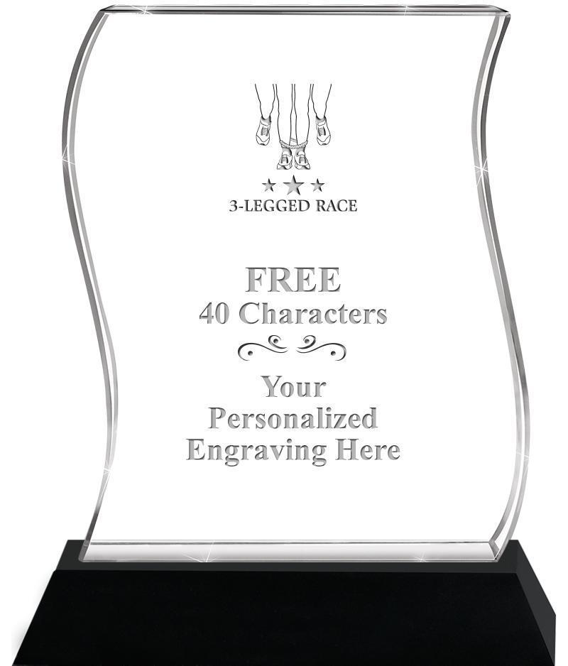 "6-1/2"" HANG TEN WAVE ACRYLIC"