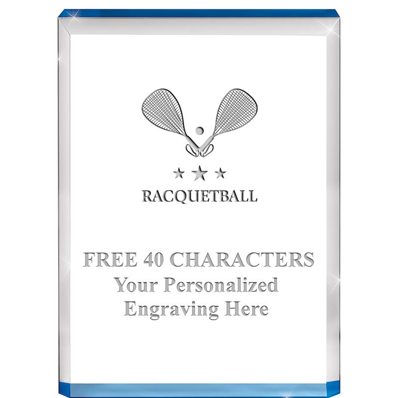 "4"" BLUE BILLBOARD ACRYLIC"