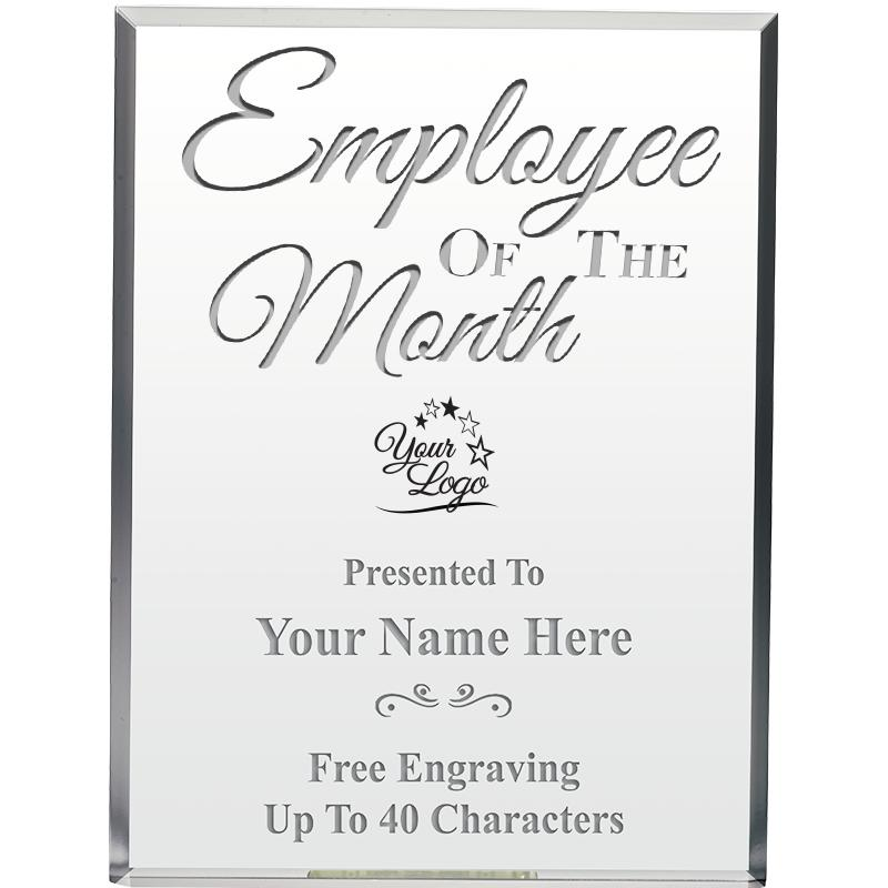 "6""EMPLOYEE OF THE MONTH ACRYLI"