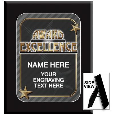 Award Of Excellence Ebony Acrylic