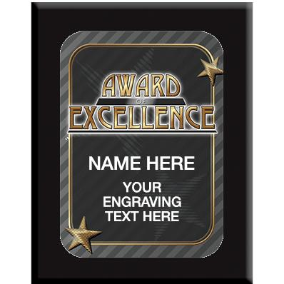 Award Of Excellence Wall Plaques