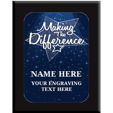 Making The Difference Wall Plaques