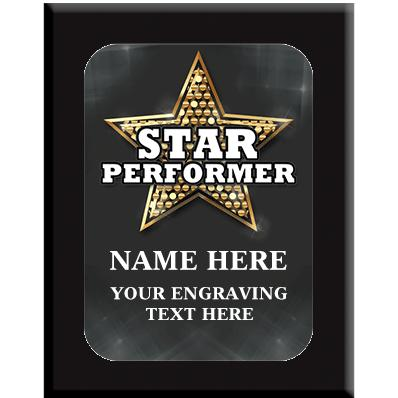 Star Performer Wall Plaques