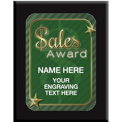 Sales Award Wall Plaques