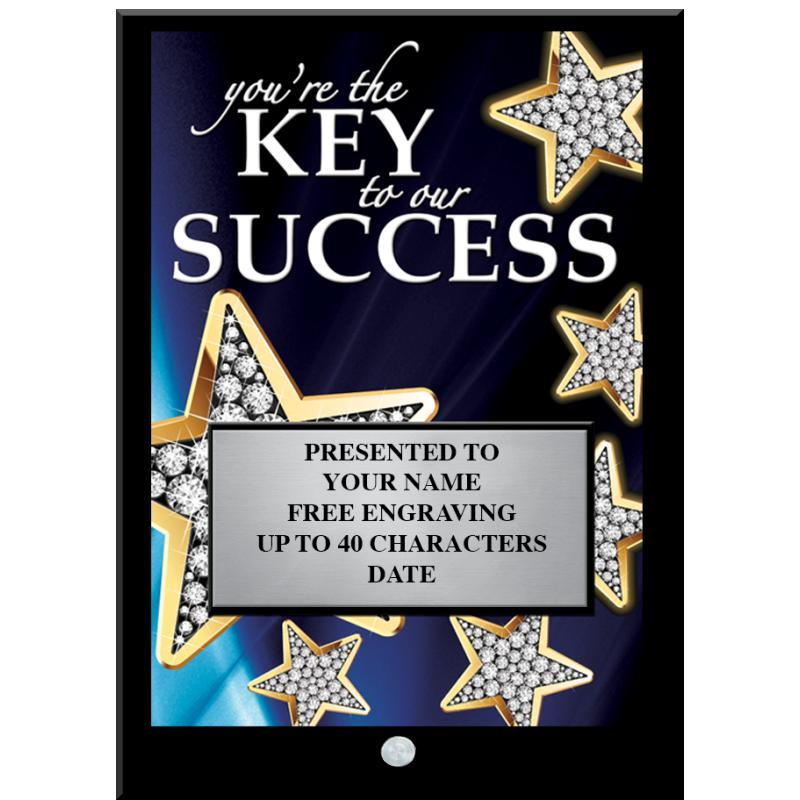 Key To Success Economy Acrylic