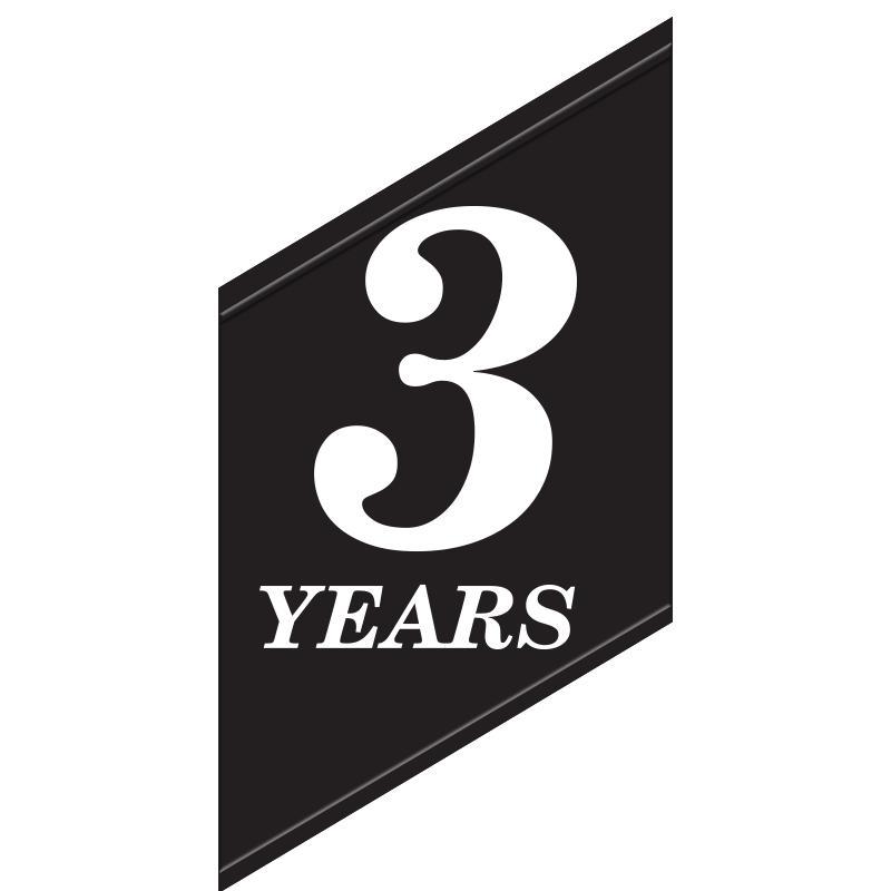YEAR OF SERVICE ACRYLIC INSERT
