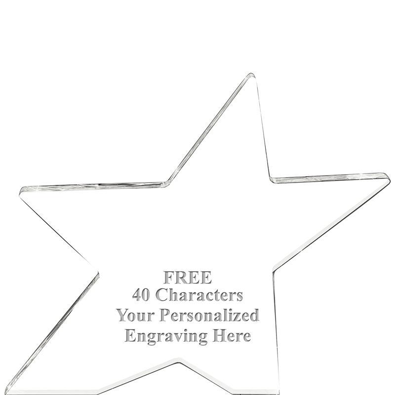 Skyrocket Acrylic Star