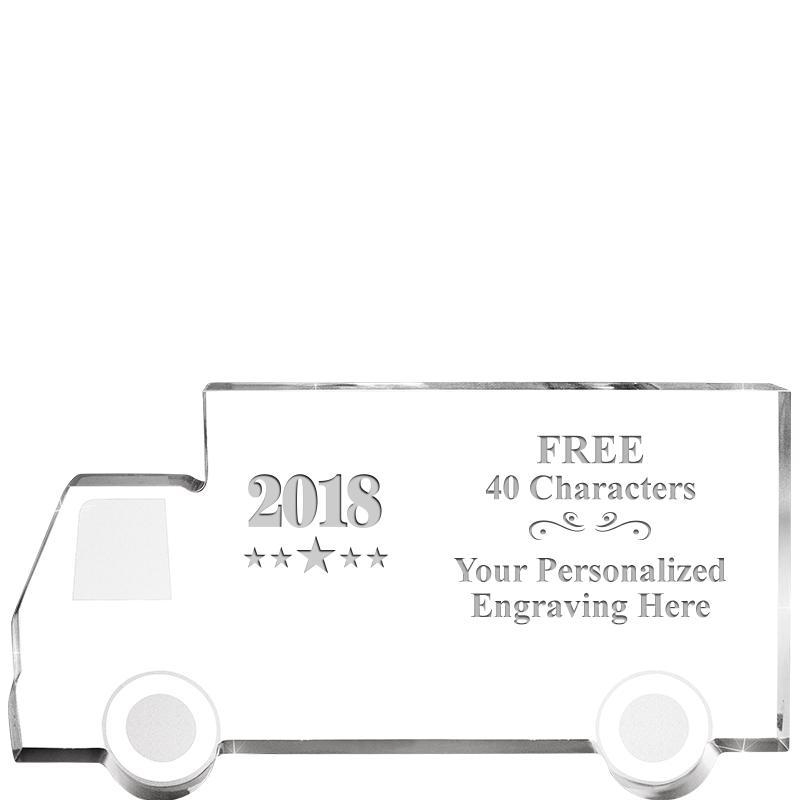 4 Wheeler Truck Acrylic