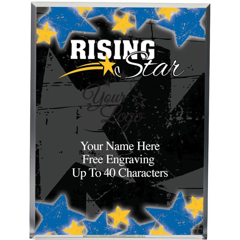 "6""WALL REC ACR-RISING STAR"
