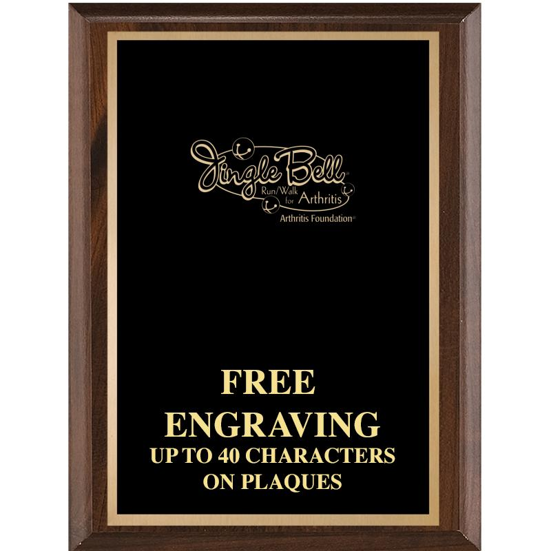 7X9 CLASSIC WOOD PLAQUE W/ETCH