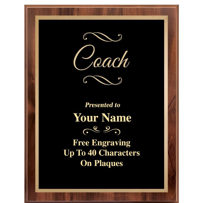 7X9 CLASSIC WOOD PLAQUE