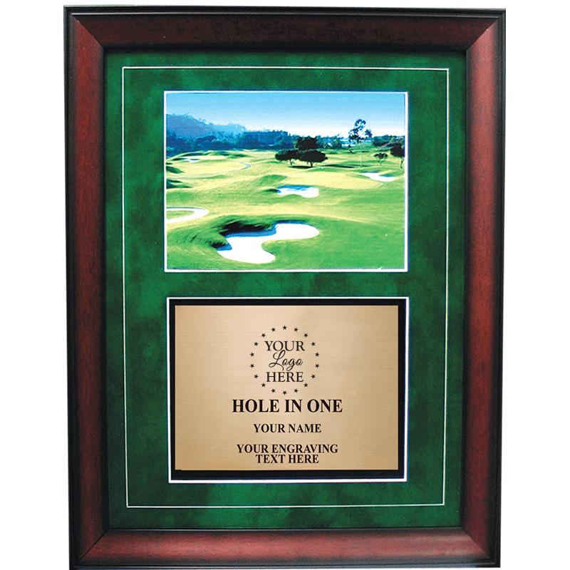 "13""X16"" GOLF FRAME PLAQUE"