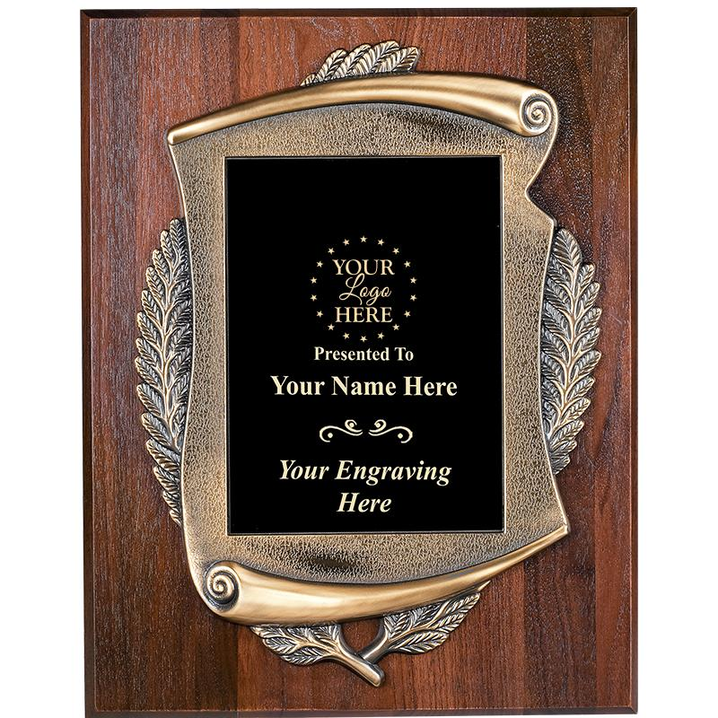 Veneer Wood Mayors Plaques