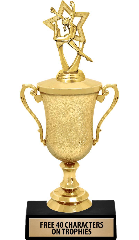 """12""""GL TRPHY W FIG CREVASSE CUP"""